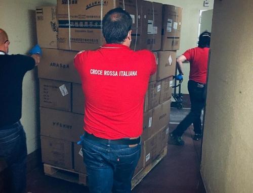 Oggi #crivillasanta ha consegnato in #donazione la prima parte di #materialesani…