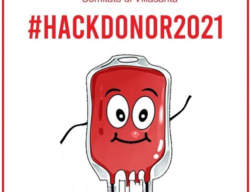 """#HackDonor2021 verso la Giornata Mondiale del Donatore di Sangue  """"Give blood an…"""