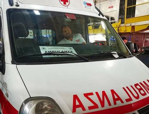 Nei giorni scorsi abbiamo Donato e consegnato personalmente una nostra ambulanza…